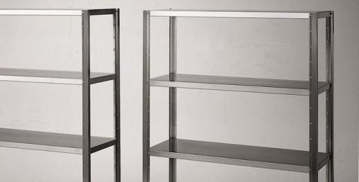 Scaffali Componibili Alluminio.Scaffali Inox Attroguide